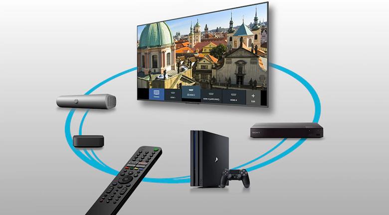 Android Tivi Sony 4K 55 inch XR-55X90J - Tìm kiếm bằng giọng nói hỗ trợ tiếng Việt với chế độ rảnh tay hoặc qua remote thông minh