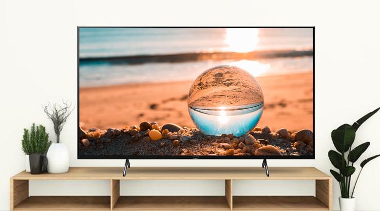 Android Tivi Sony 4K 50 inch XR-50X90J - Thiết kế tinh tế, viền màu đen thanh mảnh