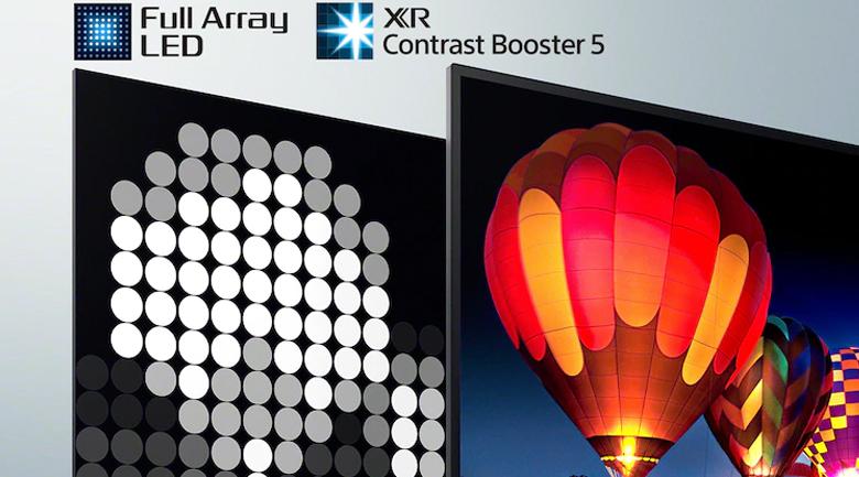 Android Tivi Sony 4K 50 inch XR-50X90J - Tăng cường chi tiết, độ sâu hình ảnh qua công nghệ Full Array LED, XR Contrast Booster x5