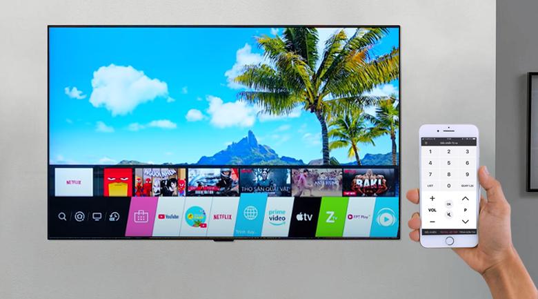 Tivi LED LG 75UP7800PTB - LG TV Plus