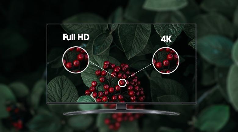 Độ phân giải 4K - Smart Tivi LG 4K 70 inch 70UP7800PTB