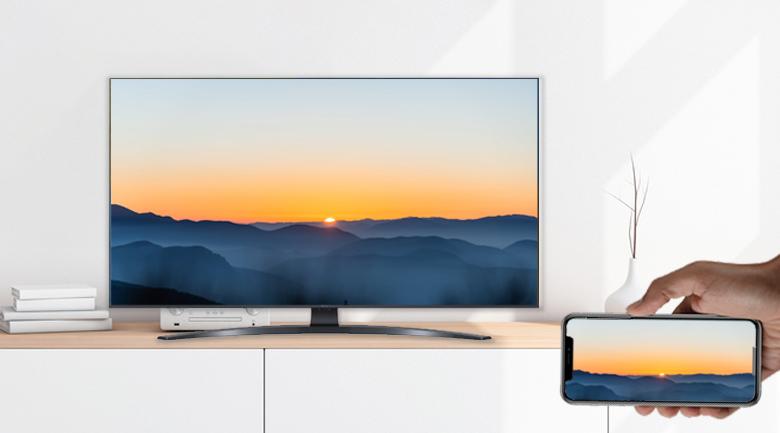 AirPlay 2 và Screen Mirroring - Smart Tivi LG 4K 70 inch 70UP7800PTB