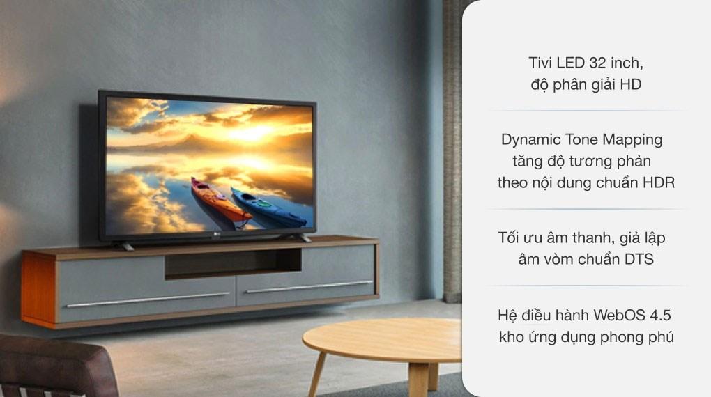 Smart Tivi LED LG 32 inch 32LM636BPTB