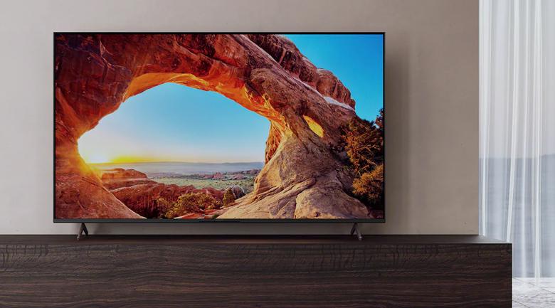 Tivi LED Sony KD-55X80J - Thiết kế