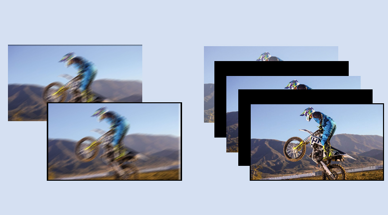 Motion flow XR200 - Tivi LED Sony KD-65X80J
