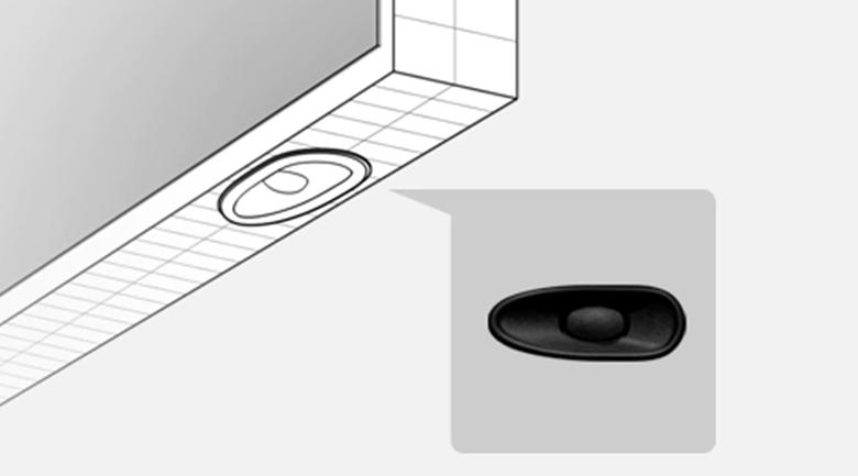 Tivi LED Sony KD-75X80J - Chất âm đa chiều cuốn hút cùng loa bất đối xứng X-Balanced Speaker