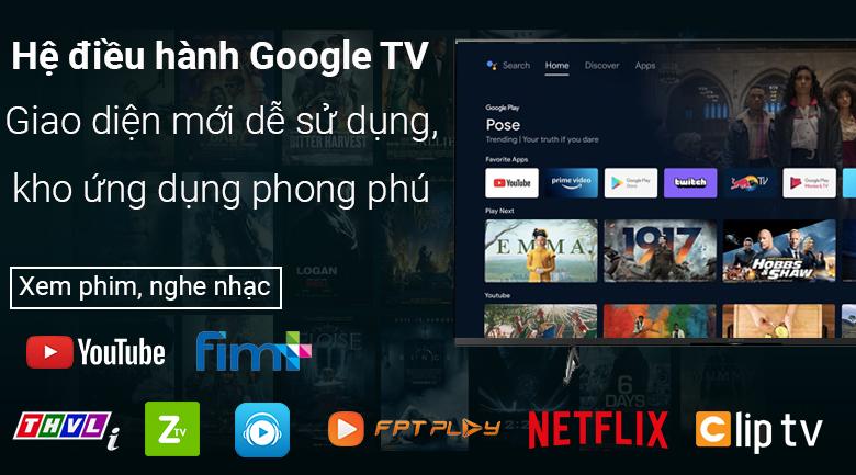 Tivi LED Sony KD-55X85J - Hệ điều hành Google TV