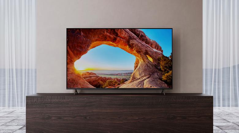 Tivi LED Sony KD-55X85J - Thiết kế hiện đại, chân đế chắc chắn