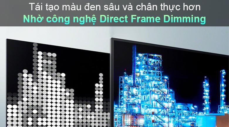 Tivi LED Sony KD-55X85J - Công nghệ Direct Frame Dimming