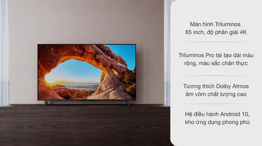 Android Tivi Sony 4K 65 inch KD-65X85J