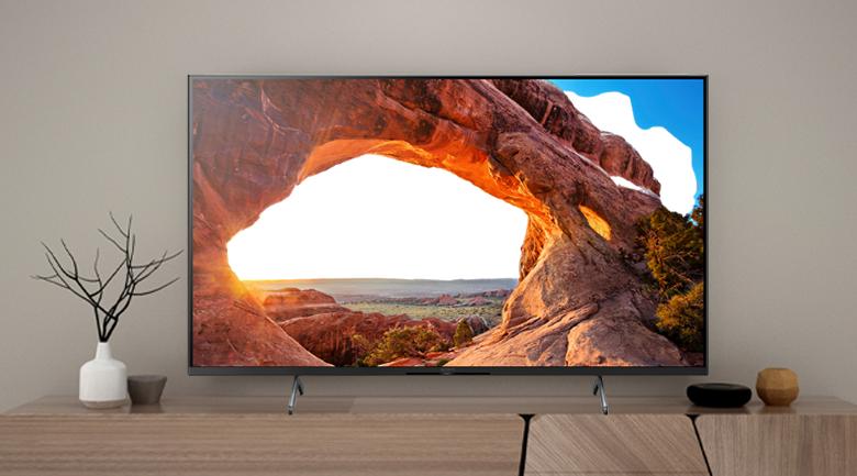 Tivi LED Sony KD-75X86J thiết kế sang trọng, hiện đại