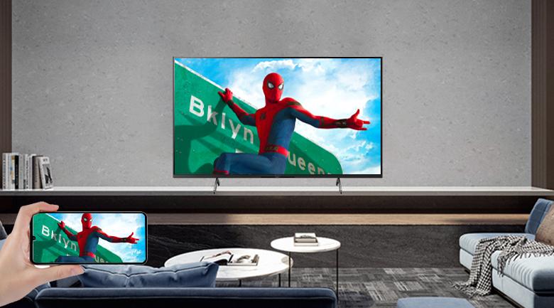 Tivi LED Sony KD-75X86J  Airplay 2 và Chromecast