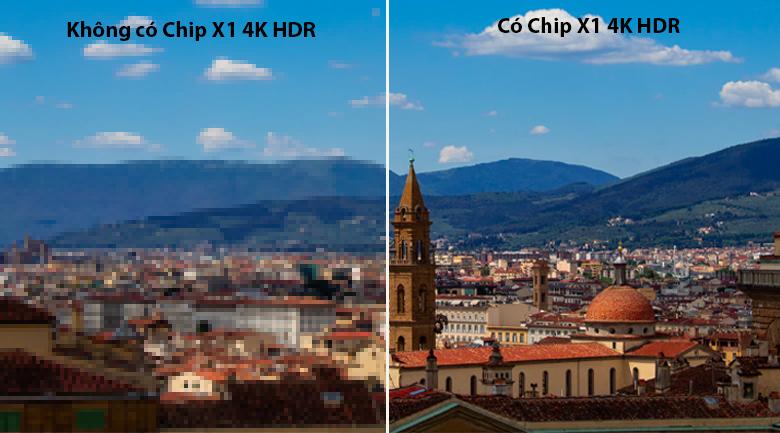 Tivi LED Sony KD-75X86J chip X1 4K HDR