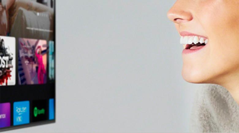 Tivi LED Sony KD-75X86J điều khiển bằng giọng nói