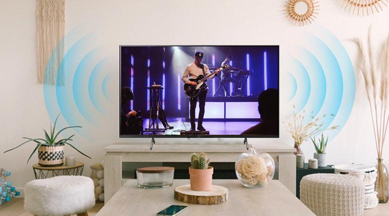 Tivi LED Sony KD-75X86J Dolby Atmos, X-Balanced Speaker, và S-Master Digital Amplifier
