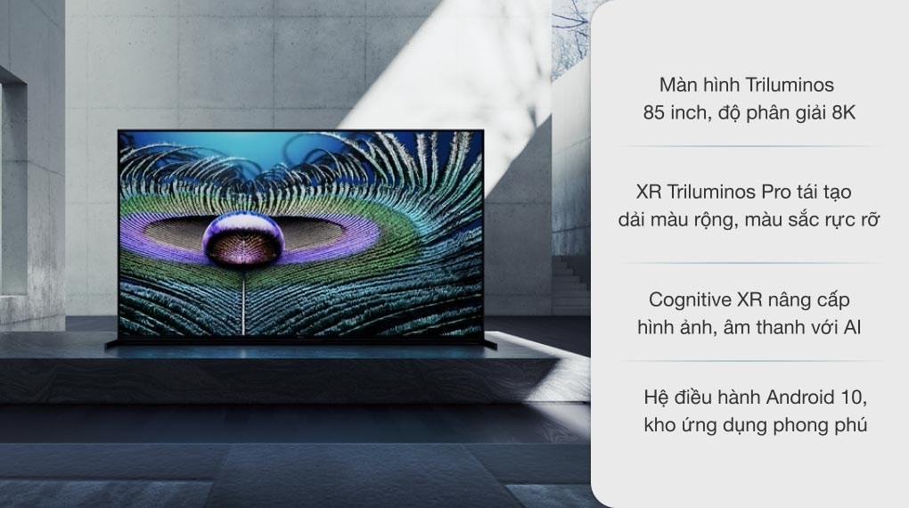 Android Tivi Sony 8K 85 inch XR-85Z9J