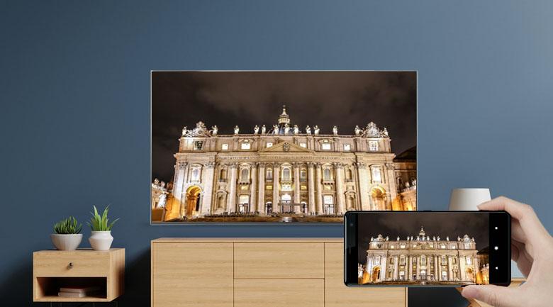 Chiếu màn hình - Tivi NanoCell LG 65NANO86TPA