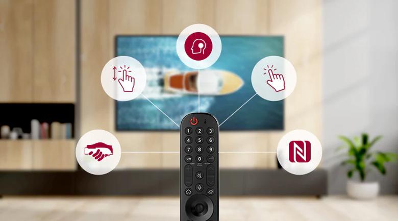 Magic Remote - Tivi NanoCell LG 65NANO86TPA