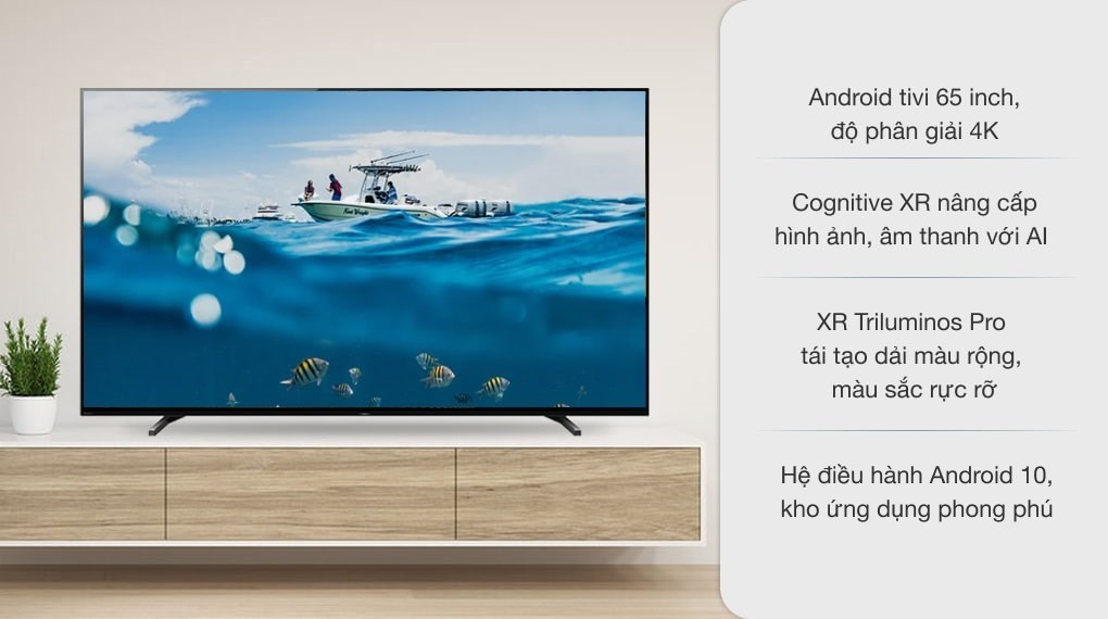 Android Tivi OLED Sony 4K 65 inch XR-65A80J