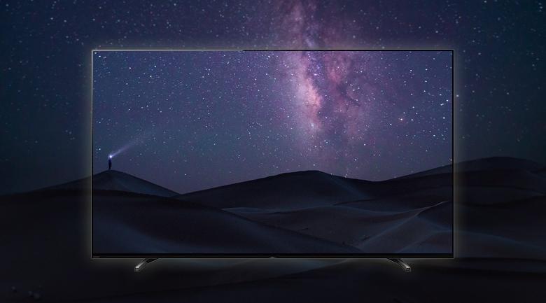 Android Tivi OLED Sony 4K 65 inch XR-65A80J - Tạo nên cảnh trời đêm hoàn hảo qua màn hình OLED