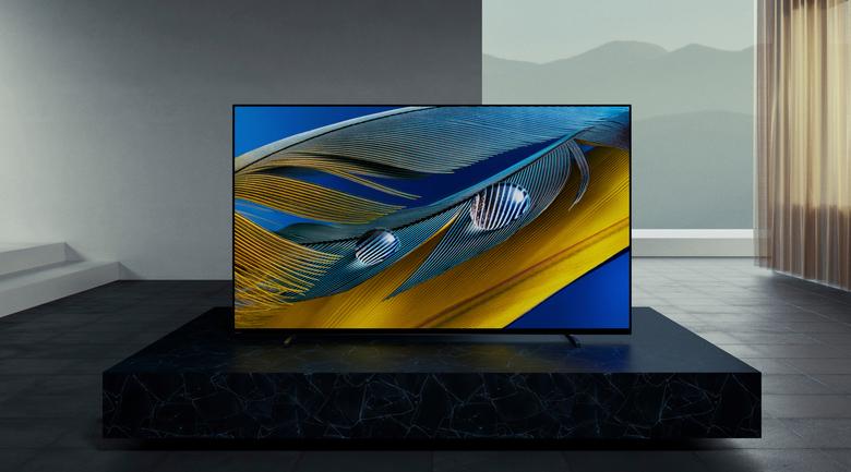 Android Tivi OLED Sony 4K 65 inch XR-65A80J - Màn hình rộng thiết kế tràn viền, liền mạch
