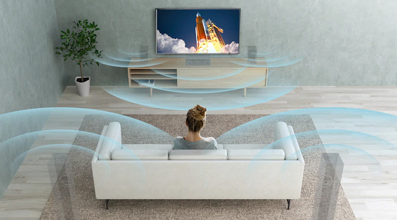 Dolby Atmos - Android Tivi OLED Sony 4K 55 inch XR-55A80J