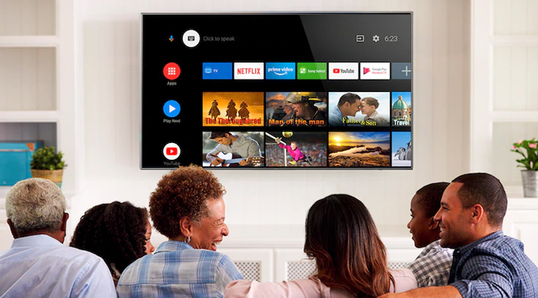 Android 10 - Android Tivi OLED Sony 4K 55 inch XR-55A80J