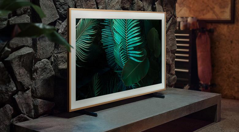 Smart Tivi Khung Tranh The Frame QLED Samsung 4K 75 inch QA75LS03A - Kiểu dáng khung tranh mới lạ, màn hình phẳng lớn