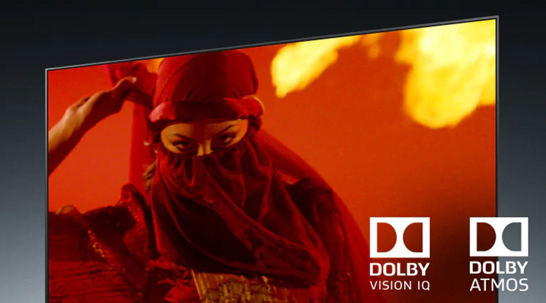 Smart Tivi OLED LG 4K 55 inch 55G1PTA - Tái hiện mỗi bộ phim theo tiêu chuẩn điện ảnh tại nhà nhờ công nghệ Dolby Vision IQ, Dolby Atmos