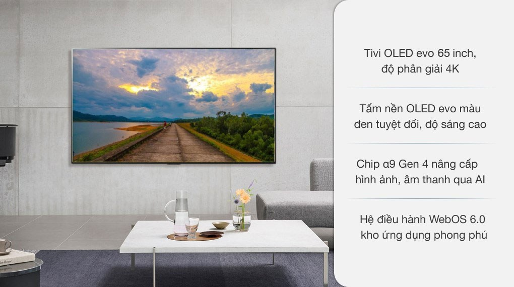 Smart Tivi OLED LG 4K 65 inch 65G1PTA