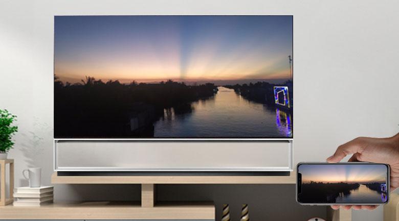 Chiếu màn hình - Smart Tivi OLED LG 8K 88 inch 88Z1PTA