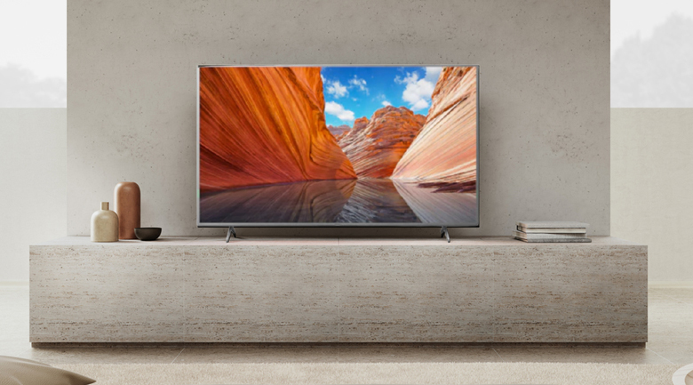 Android Tivi Sony 4K 50 inch KD-50X80J/S - Thiết kế