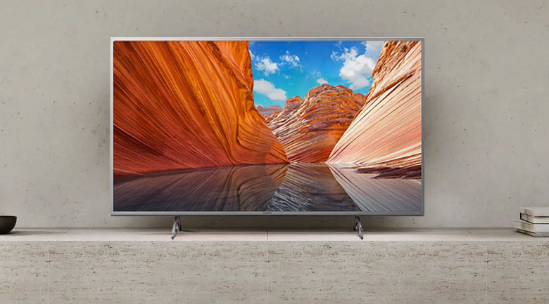 Android Tivi Sony 4K 55 inch KD-55X80J/S - Thiết kế