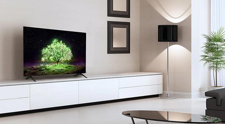 Smart Tivi OLED LG 4K 48 inch 48A1PTA - Thiết kế