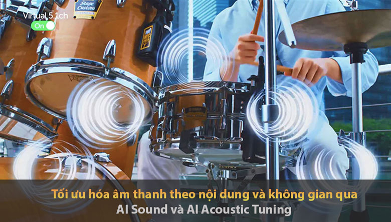 Smart Tivi OLED LG 4K 48 inch 48A1PTA - AI Sound