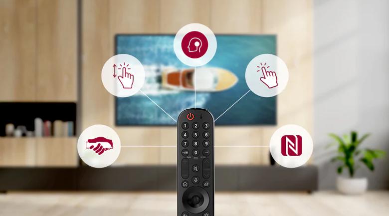 Smart Tivi OLED LG 4K 48 inch 48A1PTA - Magic Remote