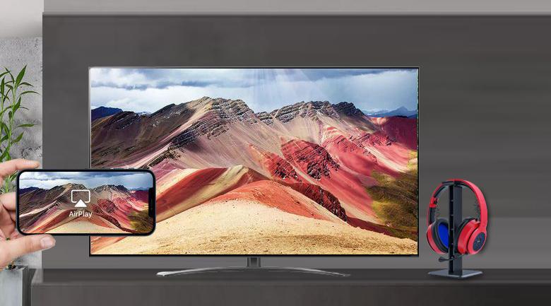 Chiếu màn hình - Smart Tivi NanoCell LG 4K 75 inch 75NANO86TPA