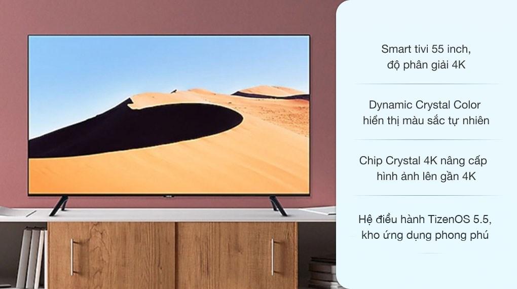 Smart Tivi Samsung 4K 55 inch UA55TU6900