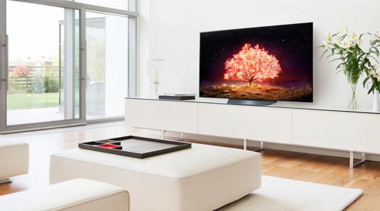 Smart Tivi OLED LG 4K 55 inch 55B1PTA - Thiết kế