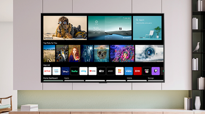 Smart Tivi QNED LG 4K 65 inch 65QNED91TPA - WebOS 6.0