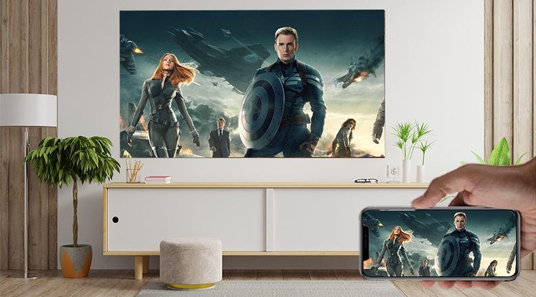 Smart Tivi QNED LG 4K 65 inch 65QNED91TPA - Airplay 2