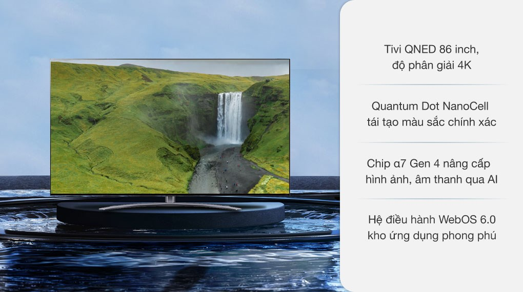 Smart Tivi QNED LG 4K 86 inch 86QNED91TPA