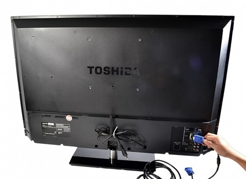 Tivi LED Toshiba 40PU200V 40 inches Full HD 50Hz-hình 2