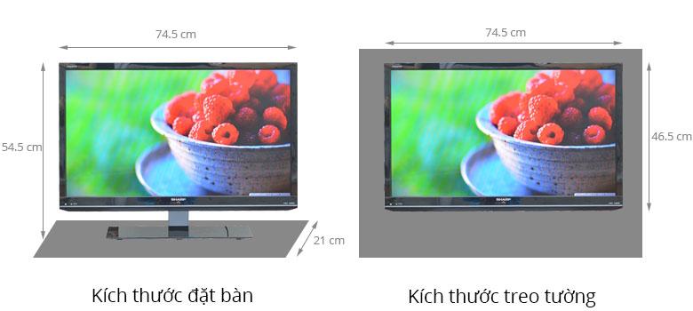 Tivi LED Sharp LC-32LE150M 32 inch
