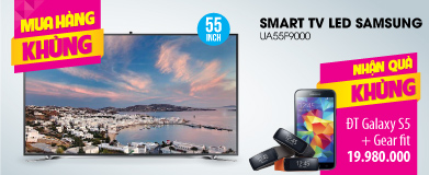 Smart Tivi 3D LED Samsung UA55F9000 55 inch