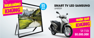 Smart Tivi 3D LED Samsung UA85S9 85 inch