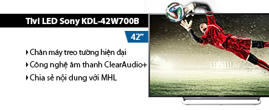 Internet Tivi LED Sony KDL-42W700B 42 inch
