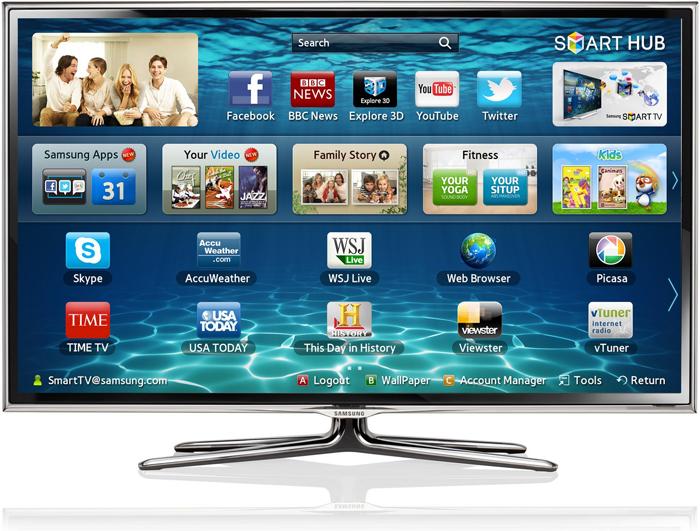 Smart tivi lên đến 4000 ứng dụng phong phú
