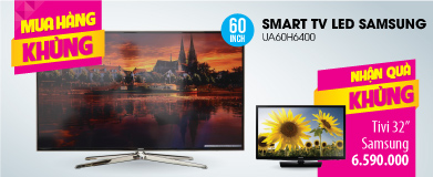 Smart Tivi 3D LED Samsung UA60H6400 60 inch