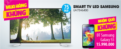 Smart Tivi 3D LED Samsung UA75H6400 75 inch